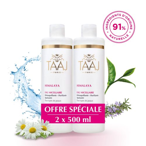 Lot de 2 eaux micellaires